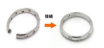 指輪の切断